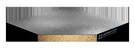 Фальшпол - Perfaten Атлант Eco (38 мм), верх алюминиевая фольга