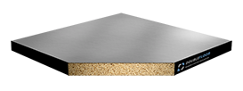 Фальшпол - Интерстрой ДСП (28), верх стальной лист