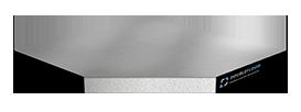 Фальшпол - Perfaten Атлант Solid (30 мм), верх стальной оцинкованный лист